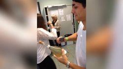 Peut-on sabrer du champagne avec un téléphone? À vous de