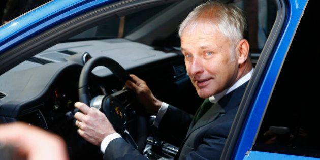 Volkswagen : le patron de Porsche Matthias Müller devrait prendre la direction du