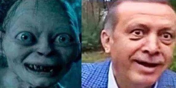 Comparer Erdogan à Gollum pourrait coûter deux ans de prison en