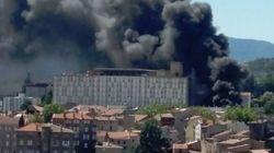 Gros incendie accidentel à l'hôpital