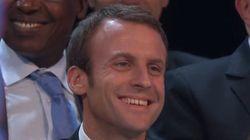 Valls rabroue (avec humour) Macron: