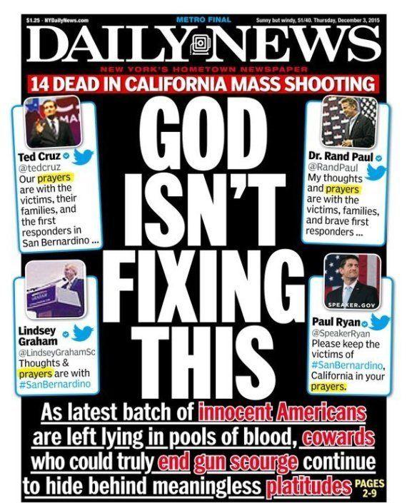 L'attitude des républicains face aux armes à feu après la fusillade en Californie scandalise le