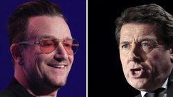 Pourquoi diable U2 remercie Christian Estrosi dans son dernier