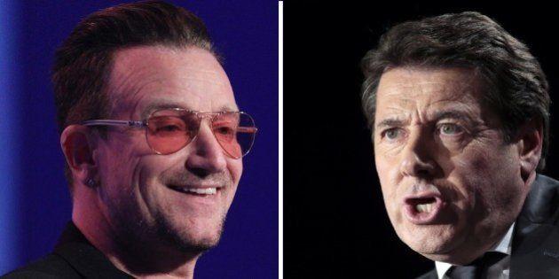 Pourquoi U2 remercie Christian Estrosi dans son dernier