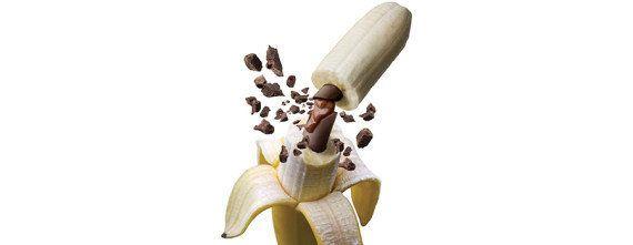 VIDÉO. Garnissez vos bananes de chocolat grâce au gadget