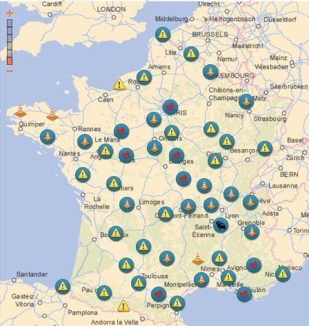Info trafic: Bison Futé voit rouge pour les départs samedi 9