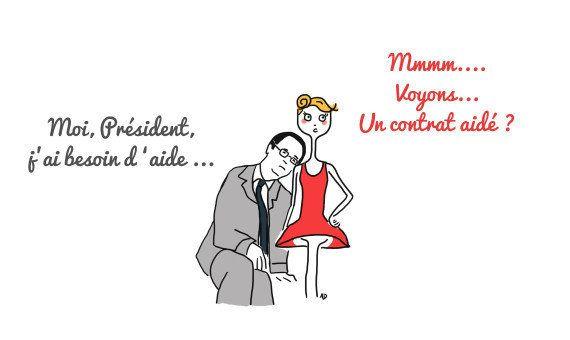 La mi-mandat de François Hollande vue par Agathe, la chômeuse des temps