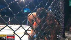 En pleine finale de l'UFC, ce combattant a dû aussi gérer sa