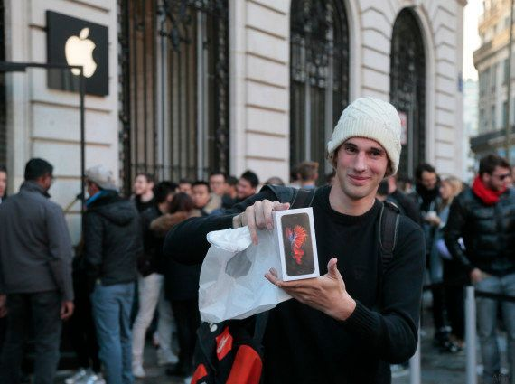 PHOTOS. L'iPhone 6S sort en France, tout ce qu'il faut savoir sur le dernier smartphone