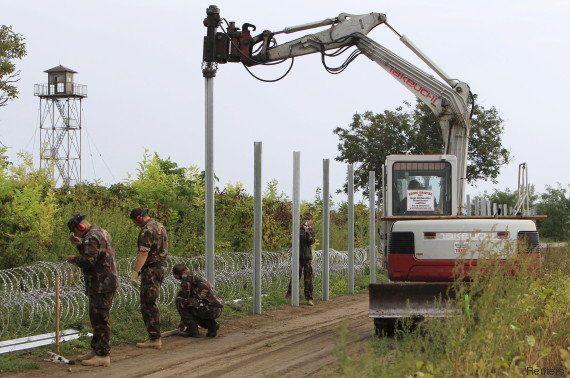 Migrants : à Berlin, une entreprise refuse de livrer du fil barbelé à la