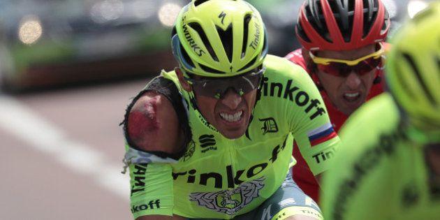 Alberto Contador abandonne le Tour de France