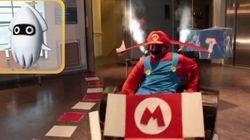 Ils transforment leurs fauteuils roulants pour parodier Mario