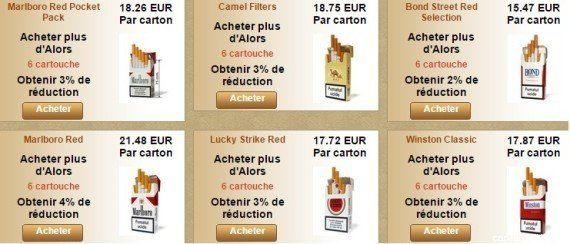 Cigarettes sur Internet : les acheteurs de tabac en ligne bientôt
