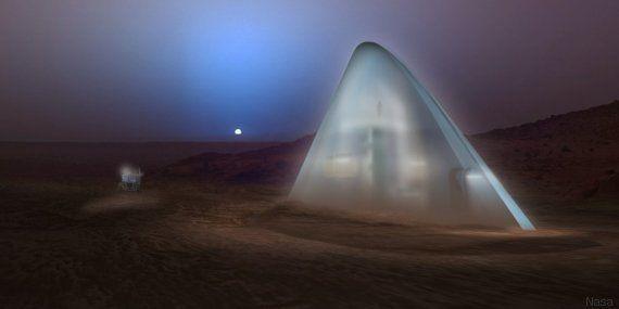 Voyage sur Mars: une maison martienne, d'accord, mais avec quoi
