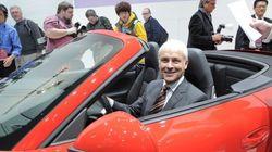 Le PDG de Porsche prend la tête de