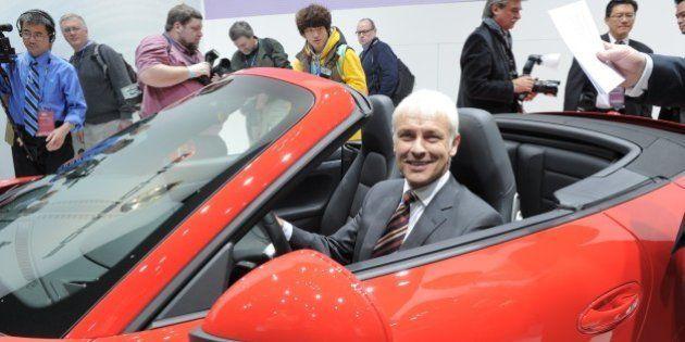 Volkswagen : le PDG de Porsche Matthias Müller prend la tête du groupe (comme