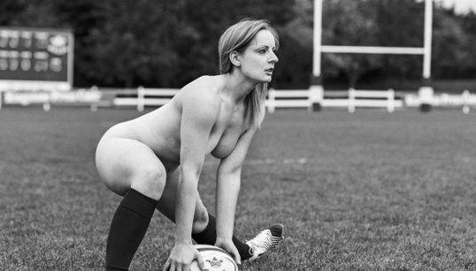 Ces joueuses de rugby ont une bonne raison de poser