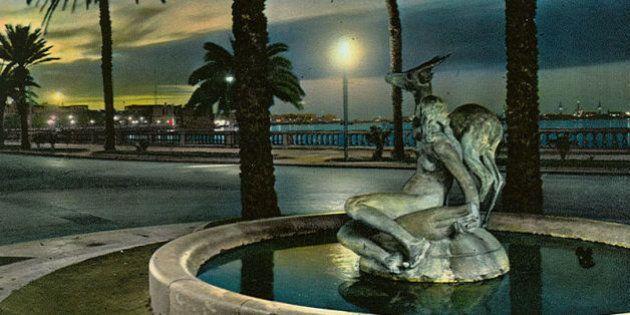 La statue d'une femme nue disparaît en plein centre de
