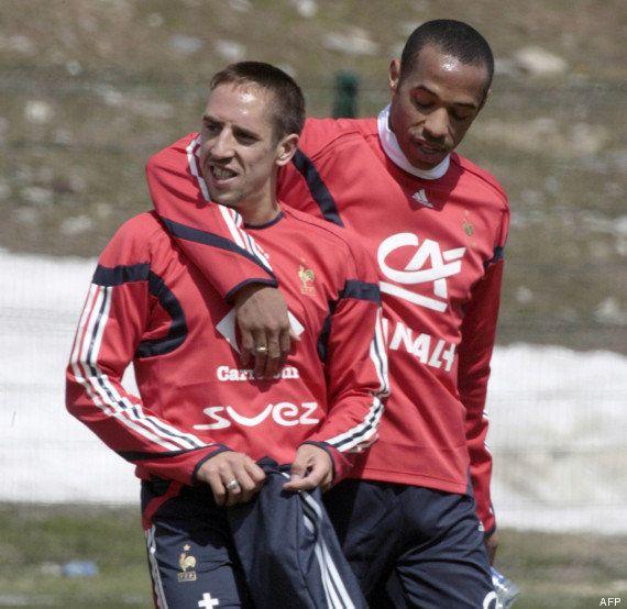 PHOTOS. Franck Ribéry prend sa retraite