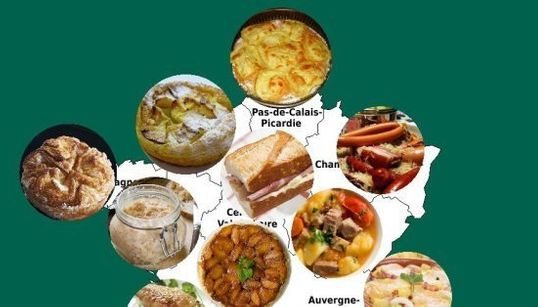 Vous avez élu les 17 spécialités culinaires des nouvelles