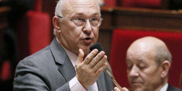 Michel Sapin interpelle la BCE et l'Europe face à la faible