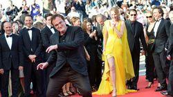 Revivez la montée des marches avec Tarantino (qui