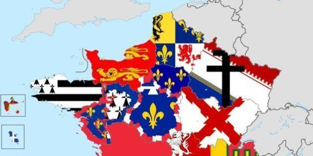 La carte des drapeaux de nos futures