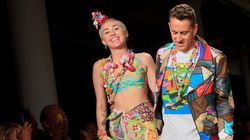 Le feu d'artifice Jeremy Scott et Miley Cyrus à la Fashion week de New
