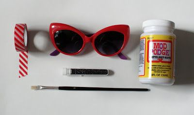 3 différentes façons de customiser ses lunettes de soleil