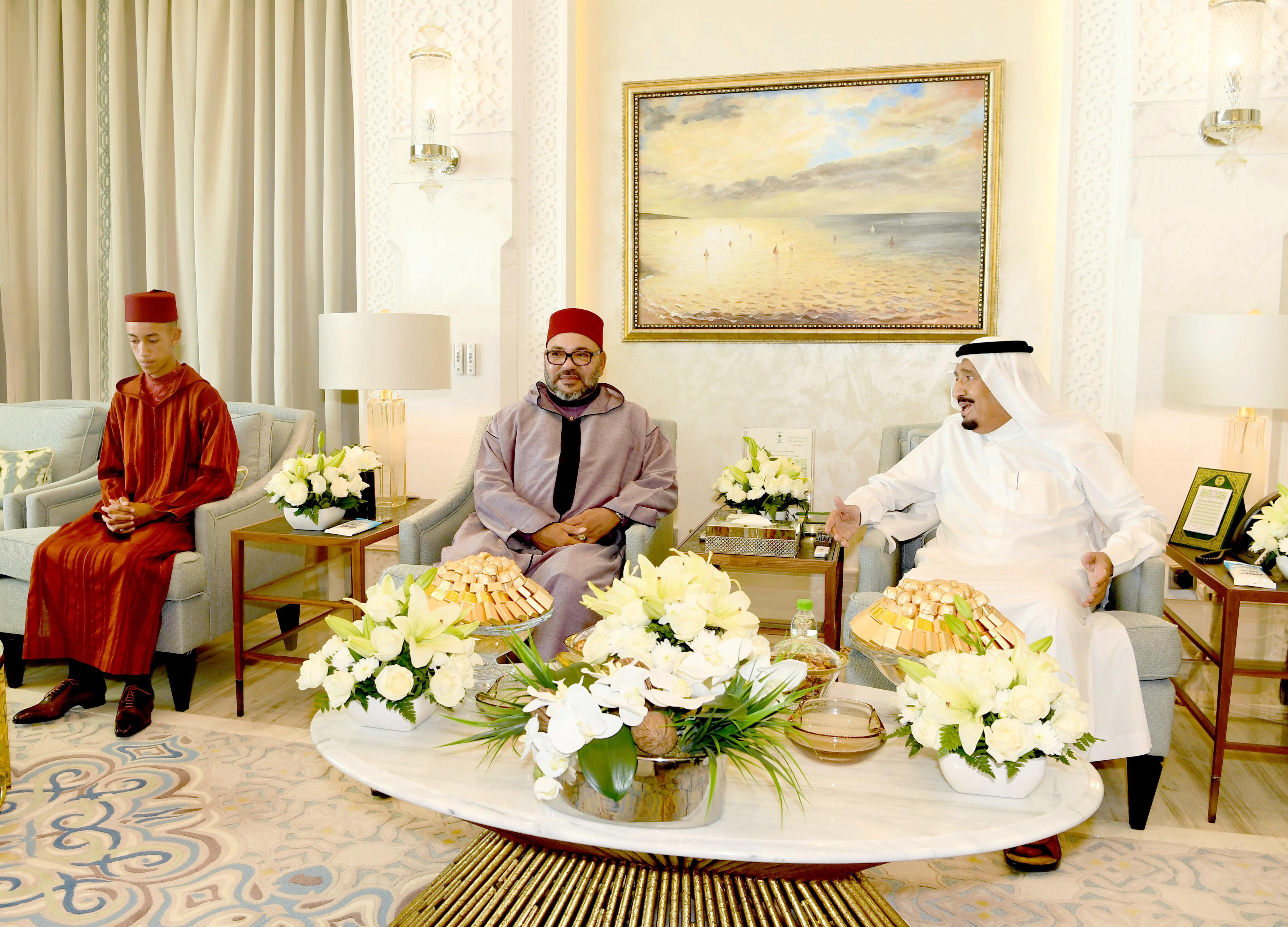 Le roi Salman d'Arabie saoudite appelle le roi Mohammed