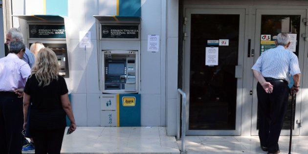 Grèce : nouvelle prolongation de la fermeture des banques jusqu'au dimanche 19