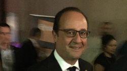 Hollande invité surprise d'un concert de Christine and the