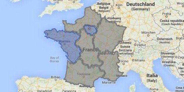 Les résultats définitifs des européennes 2014, région par région, circonscription par circonscription