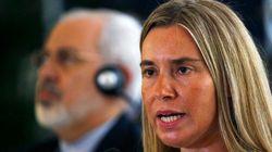 La chef de la diplomatie européenne plaide pour un État