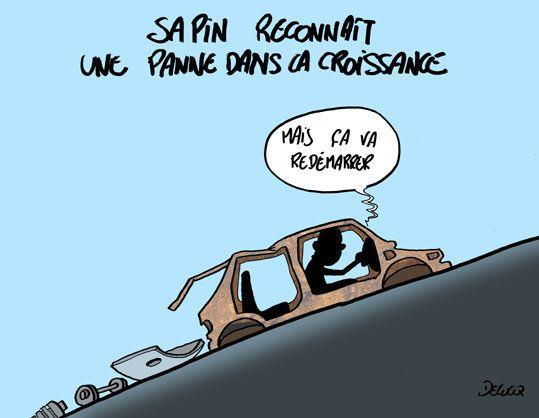 Croissance: la France en