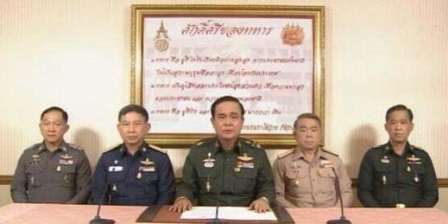Thaïlande: le chef de la junte militaire approuvé par le