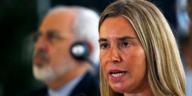 La chef de la diplomatie européenne, Federica Mogherini, plaide pour un État palestinien à