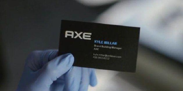 Axe crée des cartes de visite aux