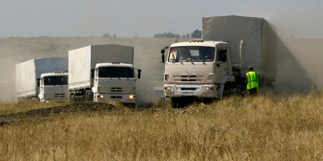 L'Ukraine va inspecter le convoi humanitaire envoyé par la Russie, des blindés russes auraient passé...