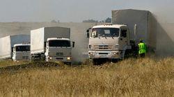 L'Ukraine attend d'inspecter le convoi humanitaire, incursion de blindés