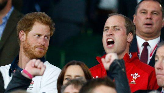 Les princes Harry et William frères ennemis le temps d'Angleterre-Pays de