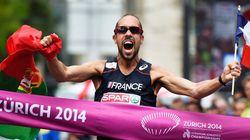 Yohann Diniz champion d'Europe du 50km marche et nouveau recordman du
