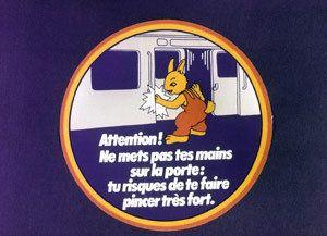PHOTOS. Le lapin de la RATP s'appelle