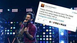 Maroon 5 déprogrammé, sans doute à cause d'un tweet sur le dalaï
