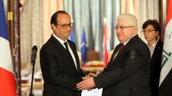 Hollande en Irak pour présenter son plan contre les
