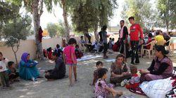 Colère et souffrance parmi les personnes déplacées en