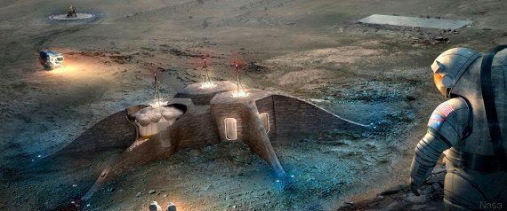PHOTOS. Mars : la Nasa a choisi le design de sa future maison