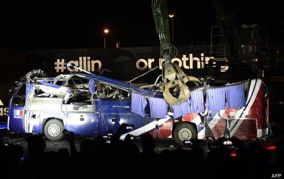 Bus de Knysna 2010: le car des Bleus durant la Coupe du monde en Afrique du Sud détruit par