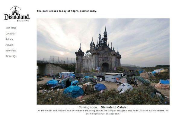 Banksy envoie son Dismaland dans la