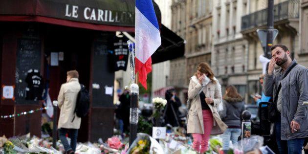 Près des lieux des attentats du 13 novembre, on ne veut pas laisser l'émotion